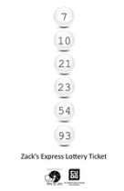 "Zack's Express Lottery Ticket • <a style=""font-size:0.8em;"" href=""http://www.flickr.com/photos/96554698@N02/9042937730/"" target=""_blank"">View on Flickr</a>"