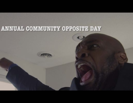 The 9th Annual Community Opposite Day