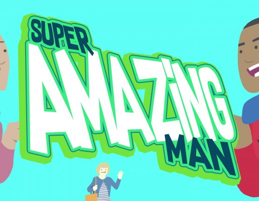 Super Amazing Man vs. Dr. Evil