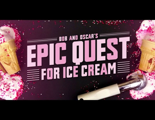 Bob and Oscar's Epic Quest for Ice Cream